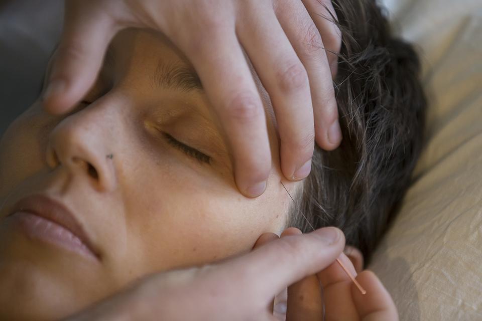 myofasciale therapie aan het hoofd
