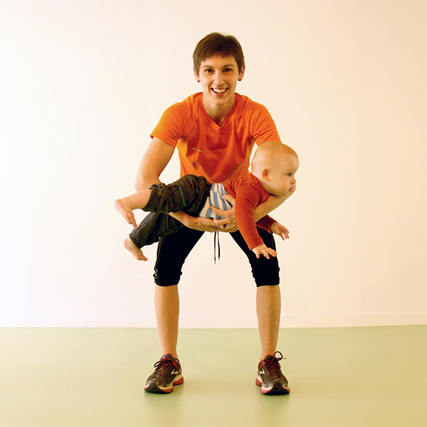 baby bootcamp oefeningen met baby